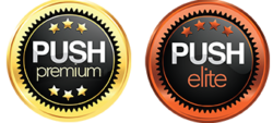 PUSH Badges